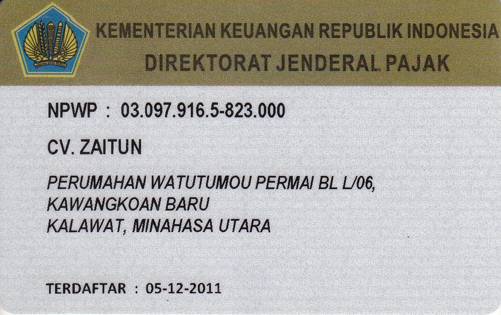 Legality Jasa Paket Ekspedisi Manado Murah